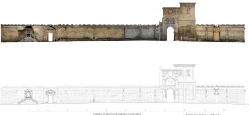 Mezquita de Córdoba - Alzado norte