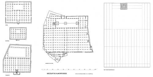 Generales comparativos - Mezquitas almorávides
