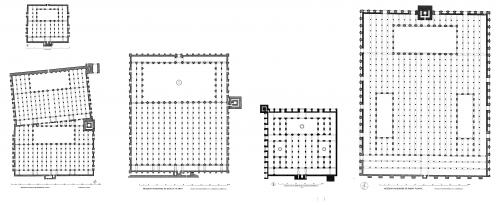 Generales comparativos - Mezquitas Almohades