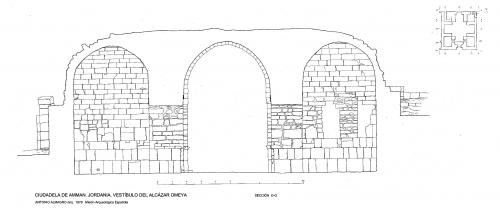 Ciudadela de Amman (Jordania) - Sección vestíbulo O-O