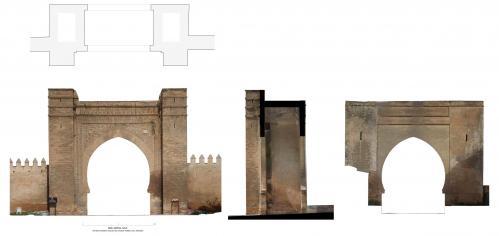 Puertas dársena (Salé, Marruecos) - Bab Lamrisa