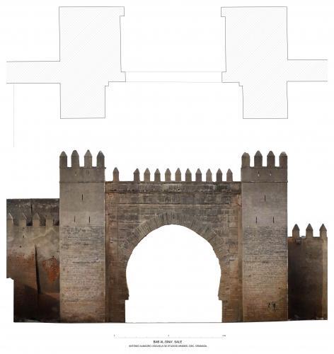 Puertas dársena (Salé, Marruecos) - Bab al-Sina'