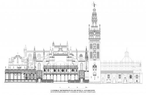 Catedral de Sevilla - Alzado este