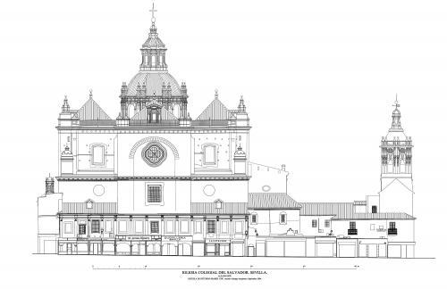 Colegiata del Salvador (Sevilla) - Fachada este
