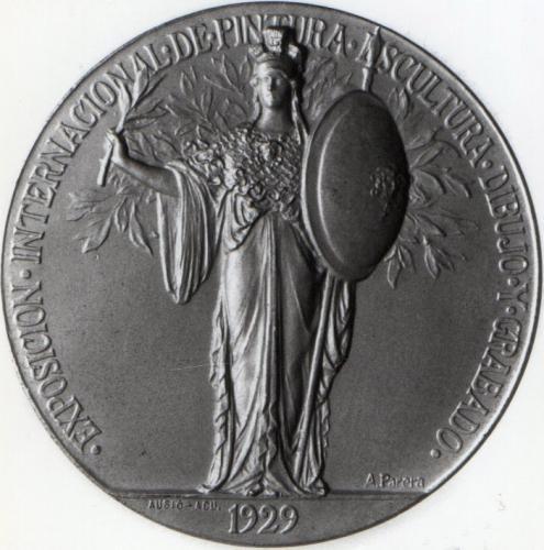 Medalla conmemorativa: Exposición Internacional de Barcelona