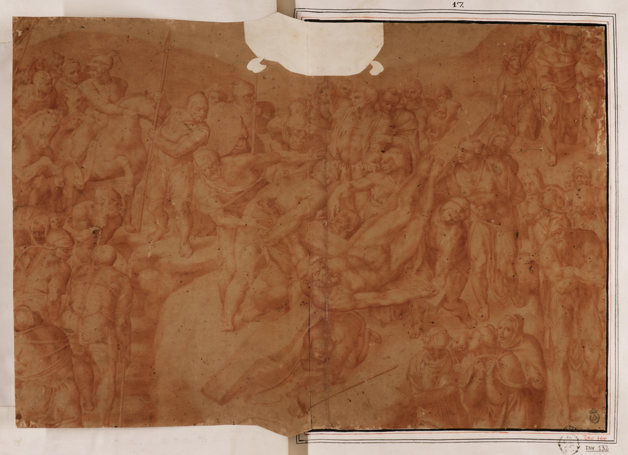 Becerra Gaspar Miguel Angel Copia De Crucifixion Da San Pedro