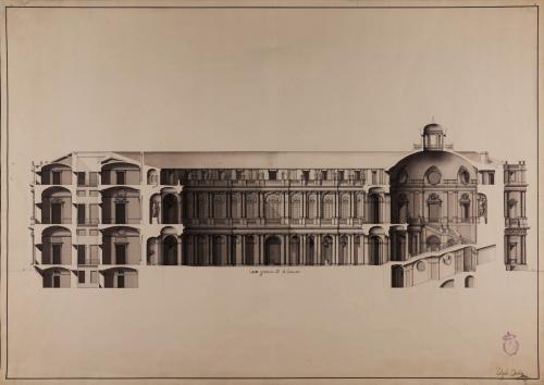 Sección AB de una Academia de tres nobles artes