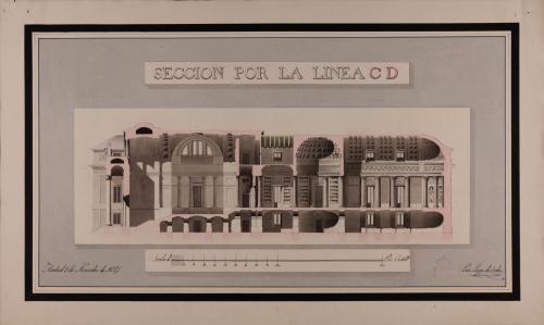 Sección CD de una biblioteca pública
