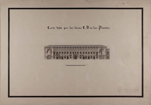 Sección CD de una casa de correos para una capital