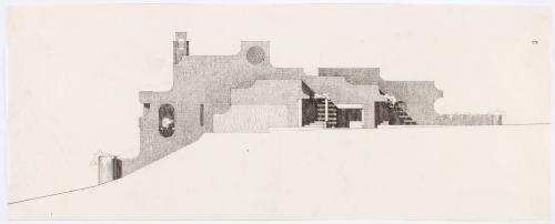 Propuesta para el estudio de un escultor (no construido)