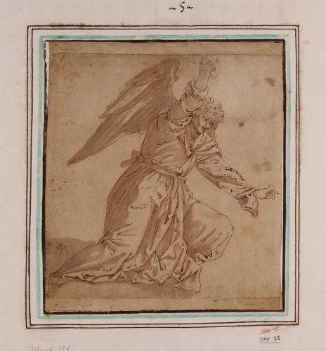 Estudio de ángel vengador
