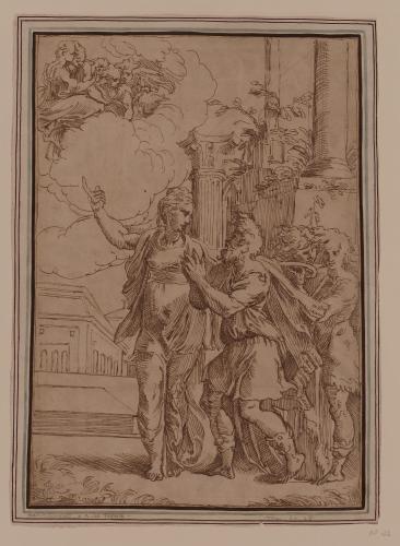 Estudio de la Sibila Tiburtina y Augusto
