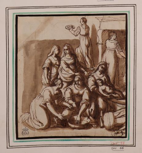 Estudio del nacimiento de la Virgen