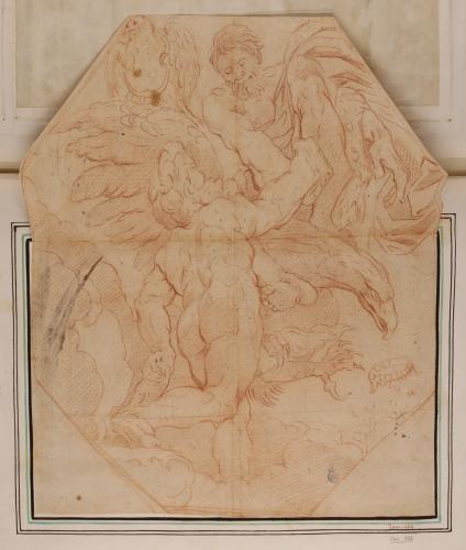 Estudio de Hércules y Júpiter