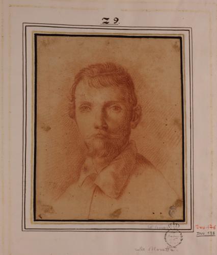 Estudio para retrato de Annibale Carracci
