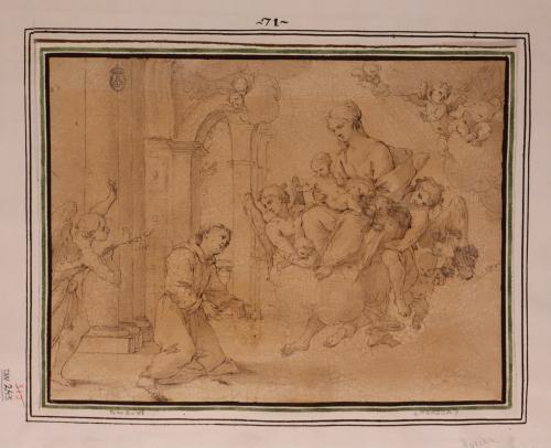 Estudio de la aparición de la Virgen y el Niño a San Antonio de Padua