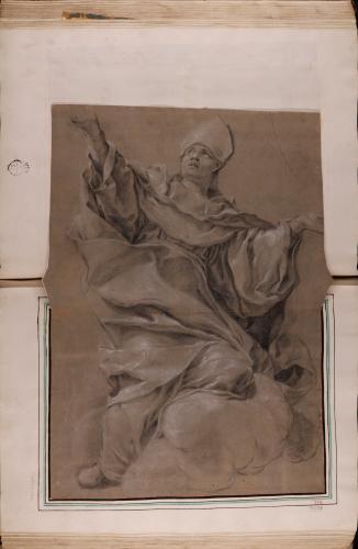 Estudio de Obispo en la gloria