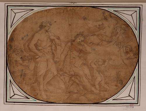 Estudio de Dionisos y Ariadna