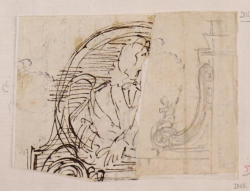 Apuntes ligeros de la tumba de Maratti