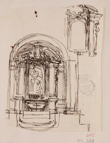 Estudio para un altar