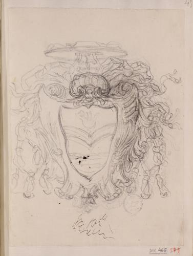 Estudio de escudo cardenalicio