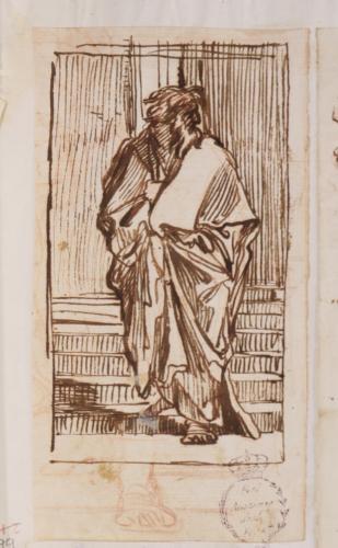 Estudio de figura de santo