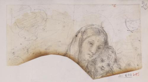 Estudio de Virgen con el Niño