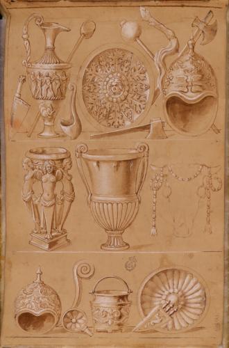 Estudio de instrumentos cultuales y sacrificiales romanos