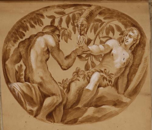 Estudio de Adán y Eva