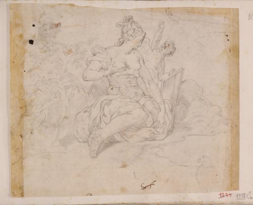 Estudio de Venus y Cupido