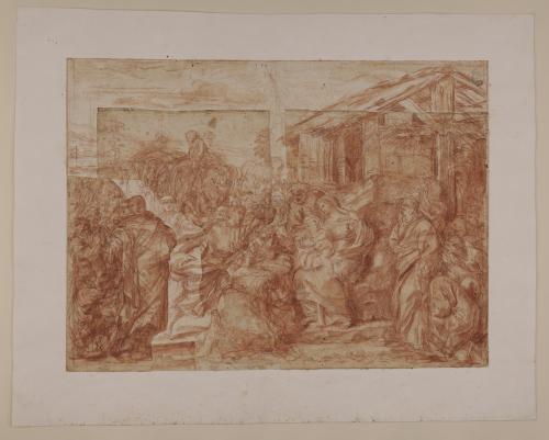 Estudio de la Adoración de los Reyes Magos