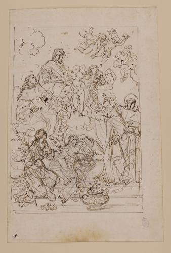 Estudio de la Virgen del Rosario