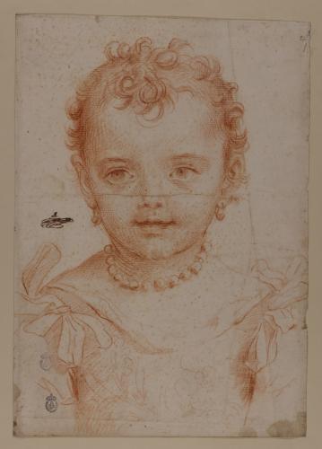 Retrato de Faustina Maratti niña