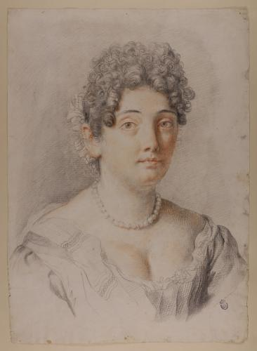 Retrato femenino (Francesca Gommi, mujer de Carlo Maratti)