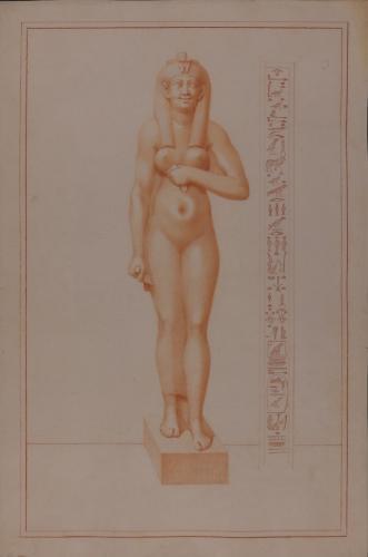 Estudio de escultura de reina Arsione II
