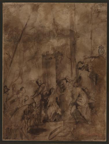 Estudio del martirio de San Jorge