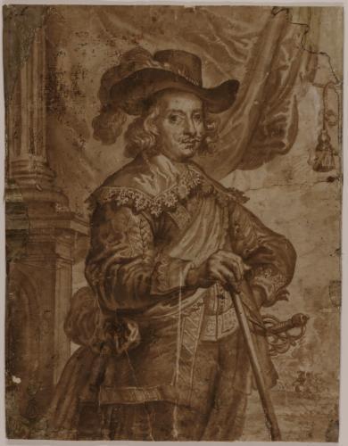 Estudio del retrato del cardenal Infante Don Fernando