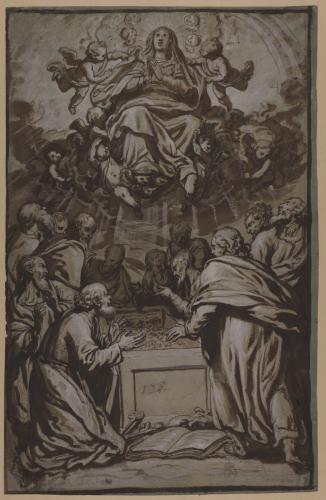 Estudio de la Asunción de la Virgen