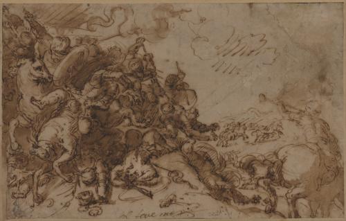 Estudio de carga de caballería