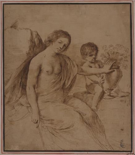 Estudio de Venus y un amorcillo