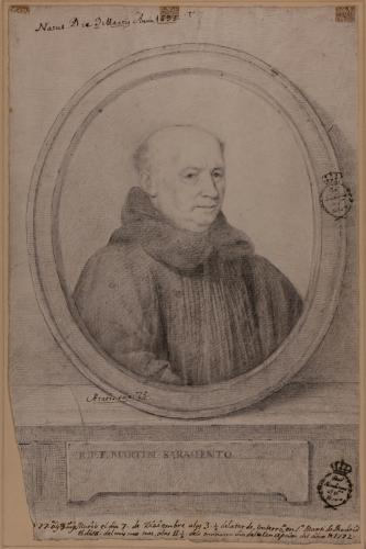 Estudio para el retrato de Fray Martín Sarmiento