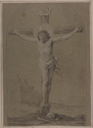 Estudio de Cristo Crucificado