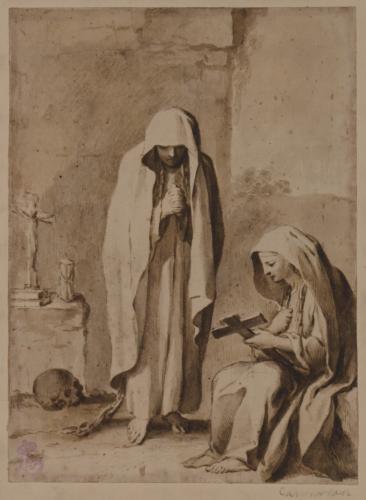 Estudio de dos mujeres penitentes