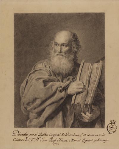 Estudio del San Pablo de Lambert Jacobsz