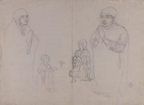 Estudio de Juan Guás y su familia