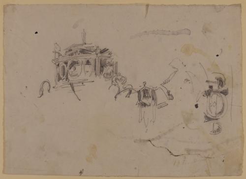 Boceto de un carruaje