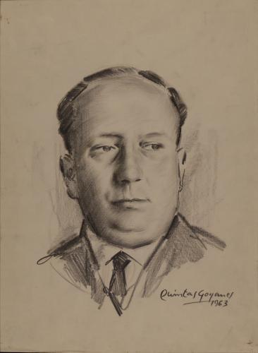Estudio para retrato de Manuel Chamoso