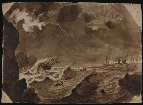 Estudio de naufragio