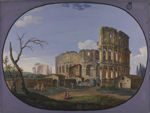Vista del Coliseo