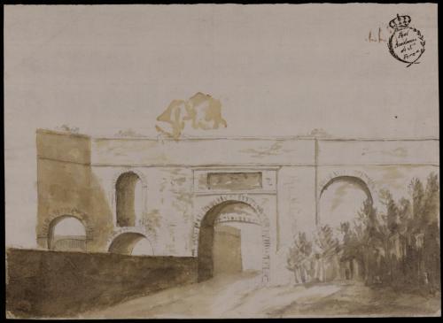Estudio de puerta romana